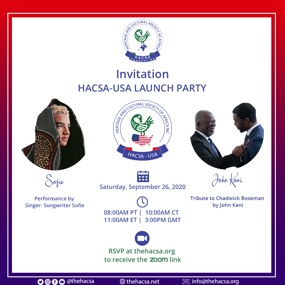 HACSA-USA LAUNCH PARTY