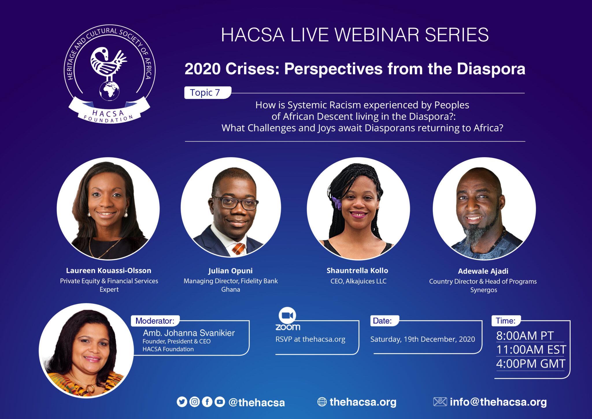 COVID-19: A Comparison of its Impact & Treatment in Africa & the Diaspora